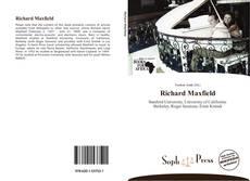 Buchcover von Richard Maxfield