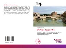 Обложка Château Lescombes