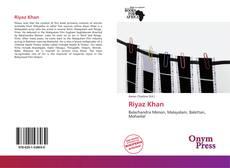 Capa do livro de Riyaz Khan