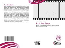 Bookcover of P. S. Keerthana