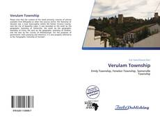 Bookcover of Verulam Township