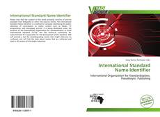Copertina di International Standard Name Identifier