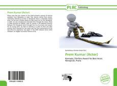 Couverture de Prem Kumar (Actor)