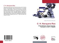 Bookcover of C. H. Narayana Rao