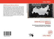Bookcover of 2008 Russian Military Reform