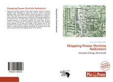 Capa do livro de Stopping Power (Particle Radiation)