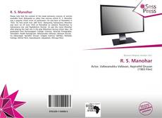 Couverture de R. S. Manohar