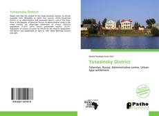 Buchcover von Yutazinsky District
