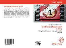 Couverture de Siddharth (Malayalam Actor)
