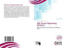 Copertina di SQL Server Reporting Services