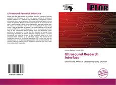 Ultrasound Research Interface kitap kapağı