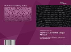 Bookcover of Sherlock Automated Design Analysis