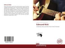 Borítókép a  Edmund Nick - hoz