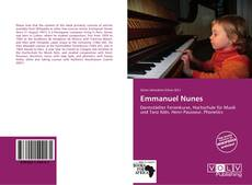 Bookcover of Emmanuel Nunes