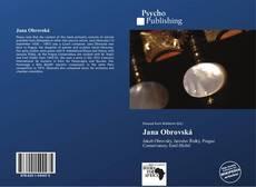 Bookcover of Jana Obrovská