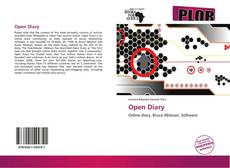 Bookcover of Open Diary