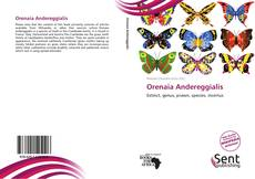 Обложка Orenaia Andereggialis