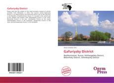 Capa do livro de Gafuriysky District
