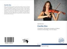 Capa do livro de Cecilie Ore