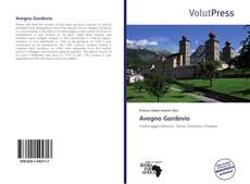 Avegno Gordevio kitap kapağı