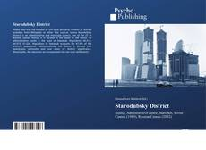 Copertina di Starodubsky District