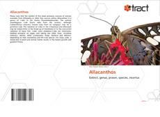 Couverture de Allacanthos