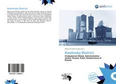 Bookcover of Kaslinsky District