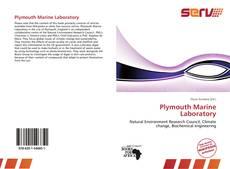 Couverture de Plymouth Marine Laboratory