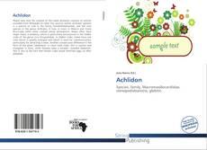 Обложка Achlidon