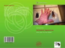 Capa do livro de Achaeus Japonicus