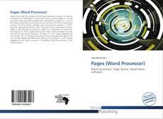 Couverture de Pages (Word Processor)