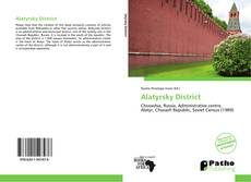 Bookcover of Alatyrsky District