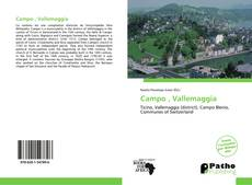 Bookcover of Campo , Vallemaggia
