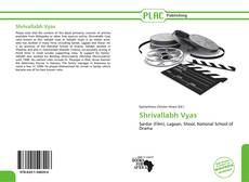 Bookcover of Shrivallabh Vyas