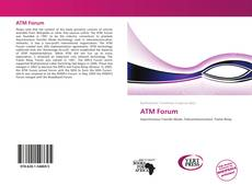 Bookcover of ATM Forum