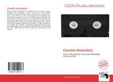 Capa do livro de Claudio Amendola
