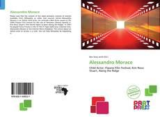 Capa do livro de Alessandro Morace