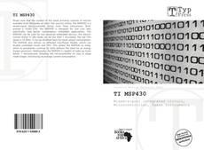 TI MSP430 kitap kapağı