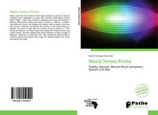 Bookcover of María Teresa Prieto