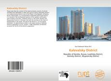 Kalevalsky District kitap kapağı