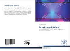 Capa do livro de Rosa Benozzi Balletti