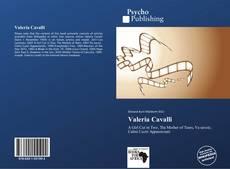 Copertina di Valeria Cavalli