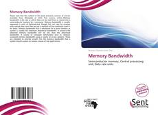 Bookcover of Memory Bandwidth