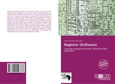 Bookcover of Registrar (Software)