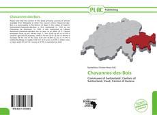 Buchcover von Chavannes-des-Bois