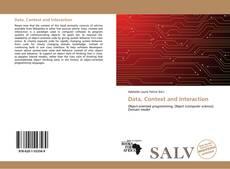 Couverture de Data, Context and Interaction