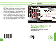 Bookcover of Petrological Database of the Ocean Floor