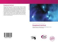 Exoplanet Archive kitap kapağı