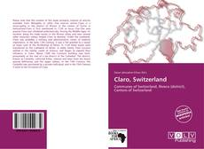 Couverture de Claro, Switzerland
