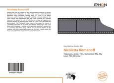 Buchcover von Nicoletta Romanoff